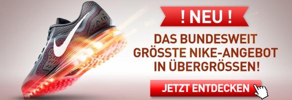 Nike Schuhe in Übergröße Nike Grösse 15, Nike Grösse