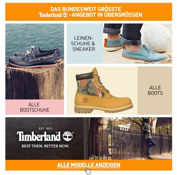 Timberland in Übergröße Schuhe von Timberland in Übergrößen
